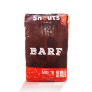 Dieta barf Snouts Feliz y Activo